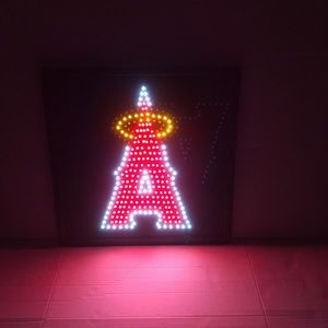 Anaheim Angels LED frame angels light Angels neon